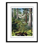 Canadian Landscape Painting Framed Art Prints, Fine Art Posters, Landscape Painting Prints, Landscape Painting Framed Prints Canadian Old Growth Forest Art Print greeting cards, Canadian, Landscape, forest, lush, green, gifts, gift, art, artwork, painting, prints, scenic, animals, wildlife, scenery, nature, watercolor, beautiful, original, colorfulmagnets, calenders,journals , gifts & More
