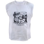 Vancouver Souvenir Men's Sleeveless Tee /  t-shirt