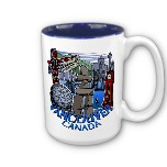 VANCOUVER CUPS MUGS GLASSES & TRAVEL MUGS