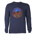 Vancouver Souvenir Long Sleeve Dark Men's T-Shirt