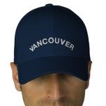 Embroidered Vancouver Canada Baseball Caps