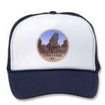 Vancouver Souvenir Trucker Cap Vancouver Caps & Hats for Men, Women, Boys & Girls Cool Vancouver Canada Souvenir Caps Art & Design by Canadian Artist Designer Kim Hunter See www.kimhunter.ca for many more Vancouver Caps & Hats Online.