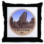 Vancouver BC Souvenir Throw Pillow