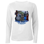 Vancouver Souvenir Women's Long Sleeve Vancouver Canada Souvenir T-Shirt Vancouver Souvenir Women's V-neck T-Shirt Vancouver Vancouver Inukshuk Souvenir T-shirts for Women  Vancouver Canada Souvenir Gifts Shop Online  Landmark Souvenirs & Gifts for Women Girls