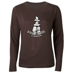 Vancouver Souvenir Women's Long Sleeve Dark T-Shirt