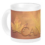 customizable Canada souvenir beer mugs, glasses, travel mugs, Canada flasks and your name here Canadian jumbo coffee cups water bottles personalized Canada souvenir drinkware collection