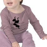 Canada Baby Shirts Personalized Canada Souvenir Baby Goose Baby Shirts & Gifts