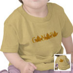 Canada Maple Leaf Souvenir Shirts Baby Collection