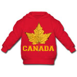 Baby Varsity Canada Hoodie Sporty Canada Shirt Collection