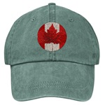 Canada Souvenir Baseball Cap Embroidered Canada Flag Caps & Hats Canada Flag Baseball Caps