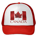 Canada Flag Baseball Caps Canada Caps Souvenirs Canadian Maple Leaf Caps & Hats