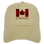 Canada Flag Souvenir Baseball Cap Canada Souvenir Caps for Men Woman Boys Girls Beautiful Red Canada Flag Caps