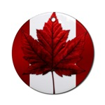 Canadian Flag Souvenir Ornament Keepsake Trinket Gifts Canadian Souvenir for Home Office Beautiful Red Canada Keepsakes Ornaments