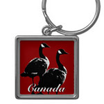 Personalized Canada Souvenir Key Chains