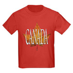 Canada Baby Souvenirs Shirts & Canada Maple Leaf Baby Gifts