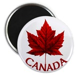 Canada Souvenir Fridge Magnet Beautiful Canadian Maple Leaf Magnets Canada Souvenir Gifts for Home & Office