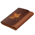 Autumn Leaf Canada Wallets Souvenir Customizable