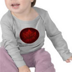 Canada Maple Leaf Souvenir Shirts Baby Canada Collection