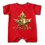 Gold Medal Canada Baby One Pieces & Creepers Team Collection