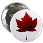 Red Maple Leaf Canada Souvenir Buttons & Pins Cafepress Collection