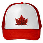 Canada Flag Baseball Caps SOuvenir Canada Caps & Gifts for Men Women Kids Beautiful Red Canadian Maple Leaf Caps & Hats