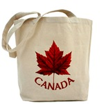 Canada Tote Bag Beautiful Canadian maple leaf tote bag Souvenir Autumn Maple Leaf Tote Bag