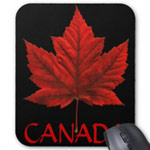 Canada Mousepads Added New Designs Customizable CAnada Souvenir Mousepads