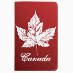 Personalized Canada souvenir journals notebooks sketchpads diaries and logbooks collection.