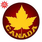 Canada Stickers Canadian Maple Leaf Bumper Stickers Cool Canada Souvenir Stickers Fun Canada Souvenirs and Gifts for Home and Office Canada Souvenir