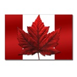 Canada  Souvenir Postcards 8 Pack Canadian Flag Postcards. Canadain Maple Leaf Postcards,