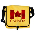 Canadian Flag Satchel Canada Souvenir Messenger Bag