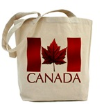 Canada Flag Tote Bag Shopping bag Canada Flag souvenir tote bag Canada Souvenir Tote Bag