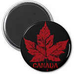 Retro Canada Magnets Canada Maple Souvenir Magnets Buttons Collection
