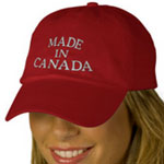 Canada Caps Embroidered Custom Canada Hats & Caps