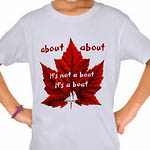 Funny Canada T-shirts About Canada Souvenir Kid's Shirts
