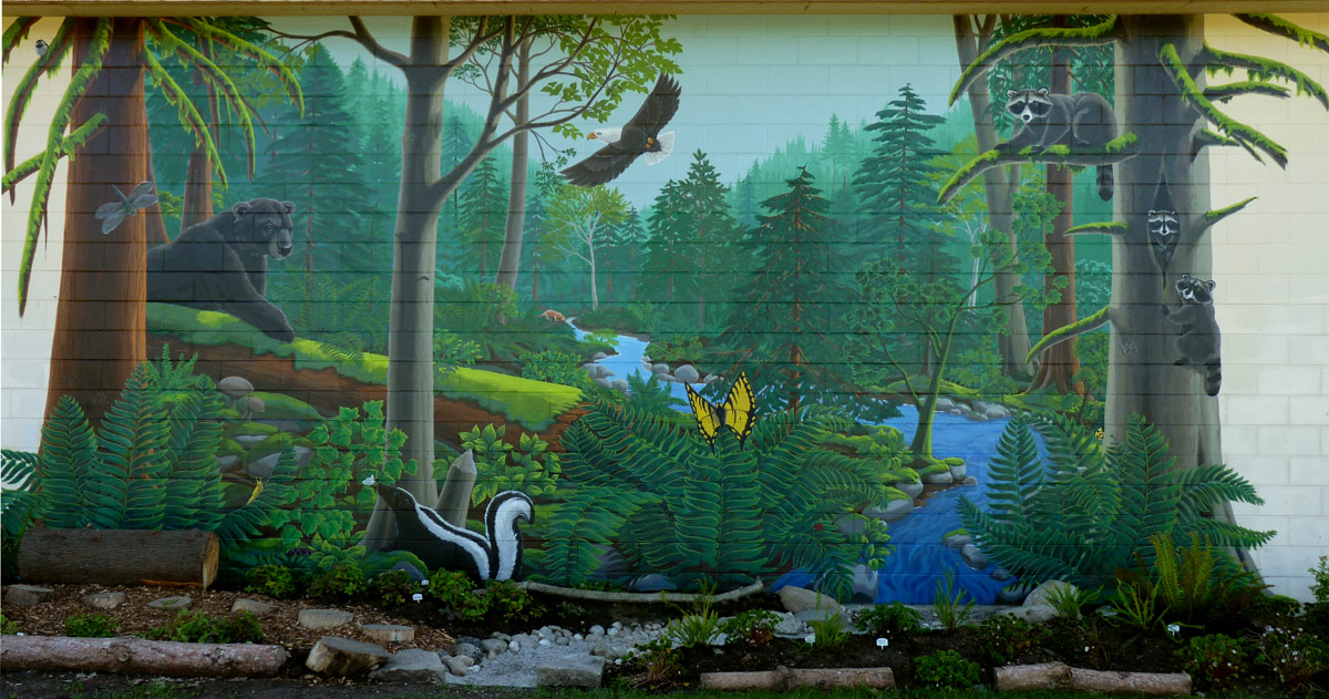Wall Murals Nature 28+ [ painted wall murals nature ] | wall mural nature wall mural