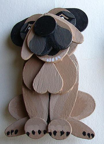 Arts crafts handmade dolls puppets wooden