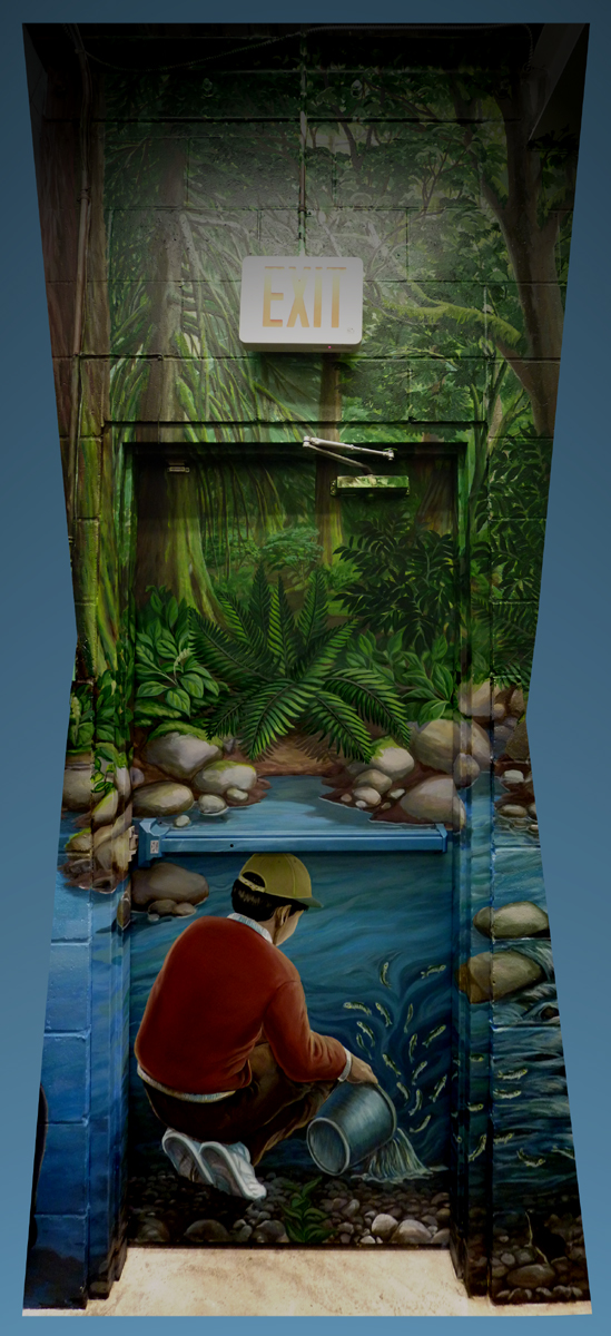 Door murals canada view full size for Educational mural