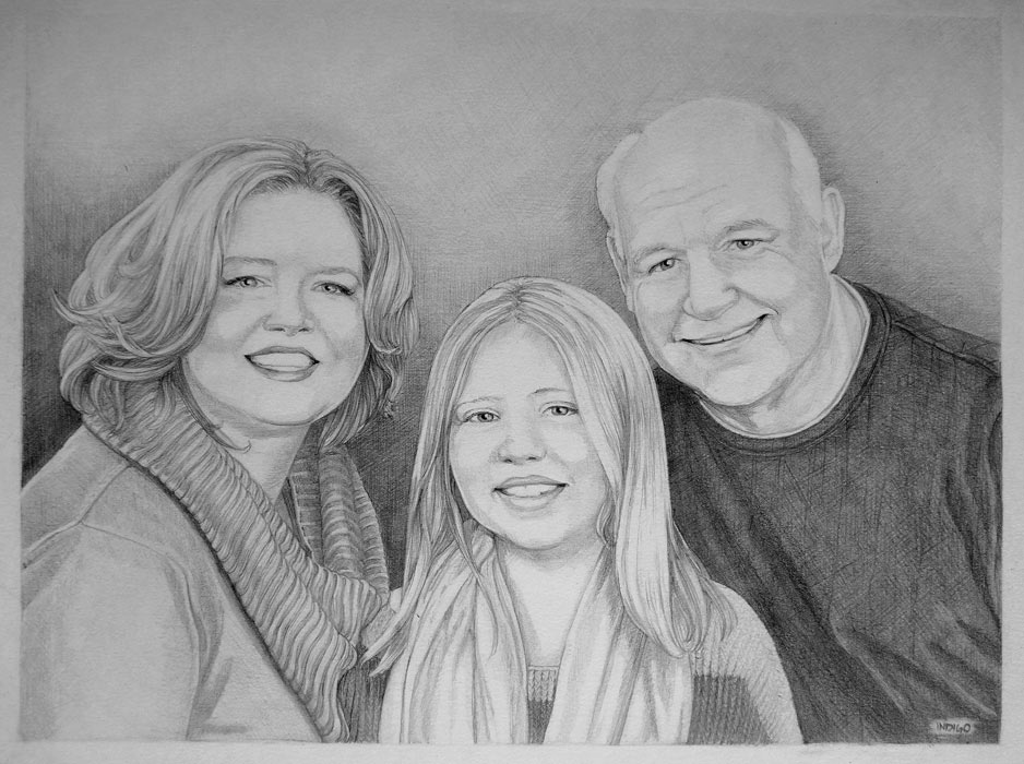 portraits pencil sketch portraits from photographs custom portrait