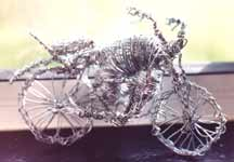 Wire Art -Objects- motor cycle Made to Order CLICK ON IMAGE FOR DETAIL