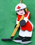 Custom Hockey Player Wood Christmas Decorations Hockey Christmas Decorations Wood Crafts Christmas Decorations & Wood Crafts Made to Order