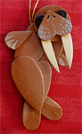 Handmade Wooden Christmas Decoration Wood Handcrafted Christmas Ornaments Canadian Wildlife Series