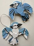 Handmade Wooden Christmas Decorations Custom Crafts  Blue Jay Wooden Christmas Decorations. Made to order Custom Wooden Xmas Decorations & Ornaments