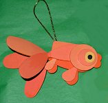 Custom Wood Crafts Gold Fish Christmas Decorations & Wood Crafts Made to Order