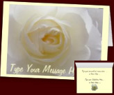 White Rose Cards & Gifts - Customized White Rose Cards Rose Gifts Prints, Decor & Keepsakes Online