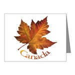 Canada Maple Leaf Gift Note Cards Canada Souvenir Canadian Maple Leaf Cards, Canada Souvenirs for Men Women Kids Home & Office Original Maple Leaf Canada Art Souvenirs design by Canadian Artist . Designer Kim Hunter