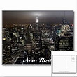 New York City Lights Prints Souvenirs New York Cityscape Souvenirs Empire State City Lights NY Souvenirs Manhattan NYC Skyline Gifts Souvenir & New York Cityscape Empire State Building Gifts