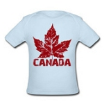 Cool Canada Baby T-shirt Infant Canada Souvenir Trendy Retro Baby T-shirt Canada Souvenirs for Babies & Toddlers Baby Girls Baby Boys Canada T-shirts