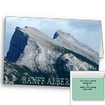 Customized Banff Alberta Card Banff Souvenir Car