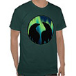 Northern Lights Wildlife Gifts Bear Art Shirts Bear Art Gifts First Nations Wildlife Art Shirts & Gifts for Men & Women, Boys & Girls Cool Aurora Borealis Art Polar Bear Gifts Design by Canadian Artist Kim Hunter.